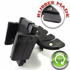 iPhone 6 5s 5 Car CD Slot Phone Holder Mount Dock Stand - Rubber Plug HEAVY DUTY