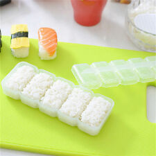 Japan Nigiri Sushi Mold Rice Ball 5 Rolls Maker Non Stick Press Bento Tools FT