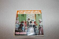Viewmaster Reel Of Madame Tussaud's Waxworks - C282-E with Booklet