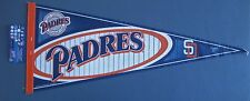 """SAN DIEGO PADRES PENNANT 12"""" x 30"""" NEW MLB WINCRAFT SPORTS FREE US SHIPPING"""