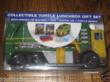 Teenage Mutant Ninja Turtles 2-Pack Blu-ray Collectible Turtle Lunch Box Set