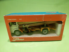 TEKNO HOLLAND 917 FORD D810 - TRUCK WOOD TRANSPORTER - WHITE 1:50 - NMIB