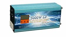 "20000W/5000W+3.5""LCD LF Split Phase PSW Power Inverter 12V DC/110V,220V AC 60Hz"