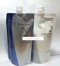 ^^ Shiseido Crystallizing Straightener Neutralizer N1 N2 for Fine / Tinted Hair