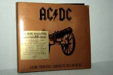 AC DC FOR THOSE ABOUT TO ROCK CD AUDIO USATO BUONO STATO GD1 42328