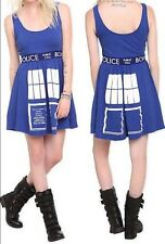 Doctor Who BBC Tardis Cosplay Dress Dr Size XL Halloween New With Tags!