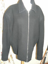 "Mens Black Jacket Size XXL 48"" Chest by Blakes Wool Cashmere Blend"