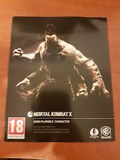 mortal kombat X ps4  goro playable character  +kollective kold war scorpion code