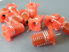 5x Toko Type S18 Coils Red 2.5 Turns 301SN0200 RF Ham Radio Projects
