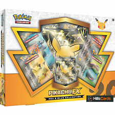 Pokemon Cards: Pikachu EX Red & Blue Collection Box: Generations Booster Packs