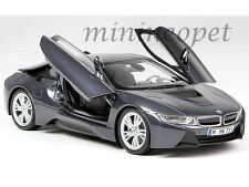 PARAGON 97082 BMW i8 1/18 DIECAST MODEL CAR SOPHISTO GREY