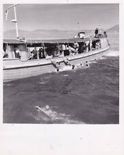 HONG KONG CHINA * Coolie Boys by NED SPARKS * Iconic VINTAGE 1953 press photo