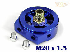 Oil Filter Sandwich Plate Adapter M20 x 1.5 1/8npt pressure temp sensor Ports HD