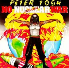 PETER TOSH  Nuclear War   NEAR-MINT CONDITION CD REGGAE GUITARIST FOR MARLEY