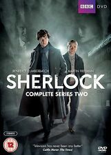 Sherlock Complete BBC Series 2 DVD Set Brand New UK Holmes Benedict Cumberbatch