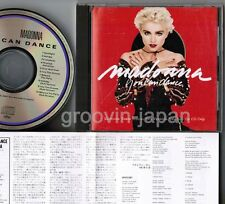 MADONNA You Can Dance JAPAN CD w/Insert+P/S 32XD-850 FREE S&H/P&P