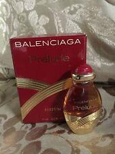 VINTAGE BALENCIAGA PRELUDE PARFUM 0.5 OZ / 15 ML NEW IN BOX RARE
