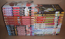 Lot of 26 Manga Graphic Novels from Del Rey Bundle Set English