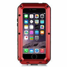 Shockproof Waterproof Aluminum Glass Metal Case Cover for iPhone 5c 5s 6s 7 Plus