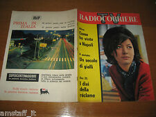 TV RADIOCORRIERE=1961/28=ALIDA RUSTICHELLI=MILVA=DIVI RECLAME' PUBBLICITA'=