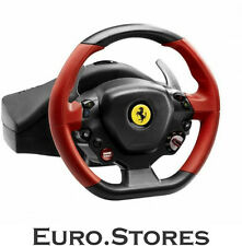 Thrustmaster Ferrari 458 Spider Racing Wheel & Pedals For Xbox Red Genuine New