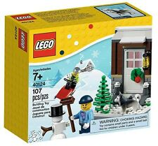 2015 LEGO Winter Fun - Christmas - 40124 - Very Hard To Find