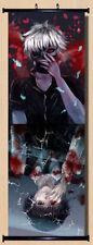 Anime Japanese Poster Wall Scroll Tokyo Ghoul Ken Kaneki Home Decor Art  40x90CM