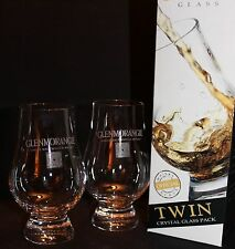 GLENMORANGIE TWIN PACK GLENCAIRN SCOTCH MALT WHISKY TASTING GLASSES