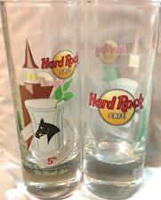 """Hard Rock Cafe LOUISVILLE 2006 5th """"A Shot At The Finish Line"""" Event 4"""" GLASS"""