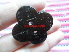 30pcs big 30mm flower Scrapbooking Sewing overcoat hat Nature coconut buttons
