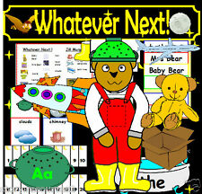 WHATEVER NEXT SPACE Roleplay Story teaching resources for story sack KS1 EYFS CD
