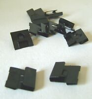 TEN CLIP OVER HANGERS - FOR PHOTO FRAMES FOR 2 & 3mm BOARD * PICTURE CLIPS