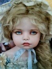 BEAUTIFUL NEW ANTIQUE-STYLE PORCELAIN DOLL BY TOM FRANCIREK AND ANDRE OLIVEIRA