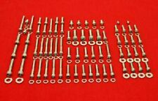 YAMAHA 1980-83 IT175 1982-83 YZ100 POLISHED STAINLESS ENGINE BOLT KIT