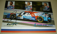 Le Mans FIA WEC 2016 Silverstone SMP Racing BR01 #37 Vitaly Petrov Signed Card