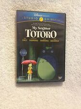 MY HEIGHBOR TOTORO DISNEY (DVD, 2010, 2-DISC SET, WS) VIEWED ONCE! VG USED SHAPE