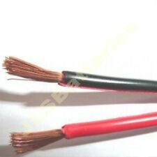 5M  Red/Black electrical cable Car Home wire 20A Meter 79/0.2mm 20 AMP