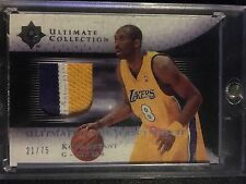 Kobe Bryant /75 Game Used UDA Ultimate Collection Jersey Patch 05-06 BGS Lakers
