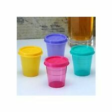 TUPPERWARE Lunch Tiffin Bowl storage container 4 pc SMALL 60 ml Assorted clrs