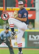 2016 Billings Mustangs Ryan Hendrix RC Rookie Reds