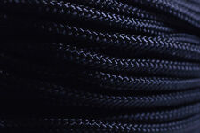 Black - 425 Paracord Rope 3 strand Cord - 100 Feet