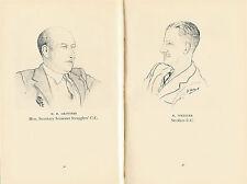 DEVON DUMPLINGS CRICKET CLUB JUBILEE BOOK 1952 edited by Malcolm Elwin