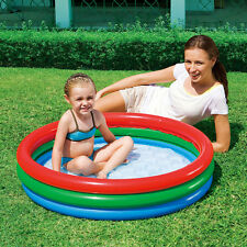 Paddling Pool Bestway Splash & Play Inflatable Swimming Garden Outdoor 3 Ring