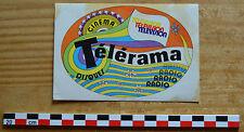 Autocollant sticker des années 1980, Télérama