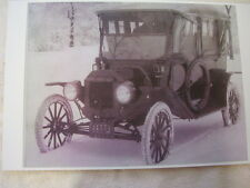 FORD MODEL T WITH WINTER FRONT AND SIDE CURTINS  11 X 17  PHOTO  PICTURE