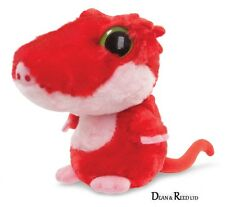 "YooHoo and Friends 5"" Spectacle Red Crested Gecko - soft toy Plush by Aurora"