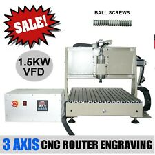 3 AXIS CNC ROUTER ENGRAVER ENGRAVING MACHINE DRILLING MILLING 6040 CUTTER TOOL