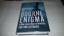 Jason Bourne: The Bourne Enigma by Eric Van Lustbader (2016, Hardcover) SIGNED