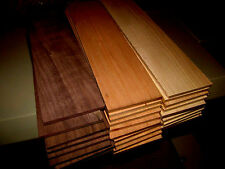 "MULTIPAK (12) KILN DRIED SANDED THIN WALNUT, CHERRY, & MAPLE 12"" X 3"" X 3/4"""