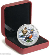 2014 Canada Harlequin DUCK Coloured Coin $0,25 CENT COINS BOX + FREE GIFT